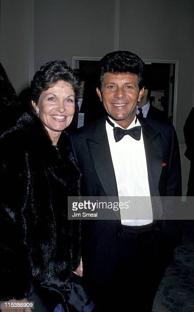 Frankie Avalon and wife during 6th Annual American Cinema Awards at Beverly Hilton Hotel in Beverly Hills California United States