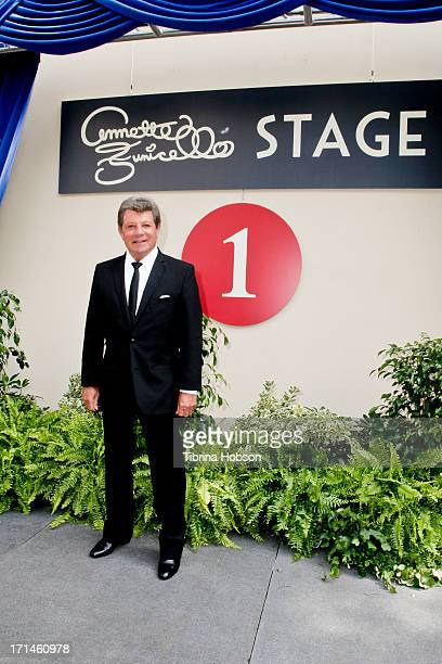 Frankie Avalon attends the stage one rededication ceremony hosted by Walt Disney Company CEO Bob Iger honoring 'America's Sweetheart' Annette...