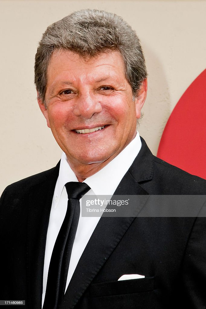 Frankie Avalon attends the stage one rededication ceremony hosted by Walt Disney Company CEO Bob Iger honoring 'America's Sweetheart' Annette Funicello at Walt Disney Studios on June 24, 2013 in Burbank, California.