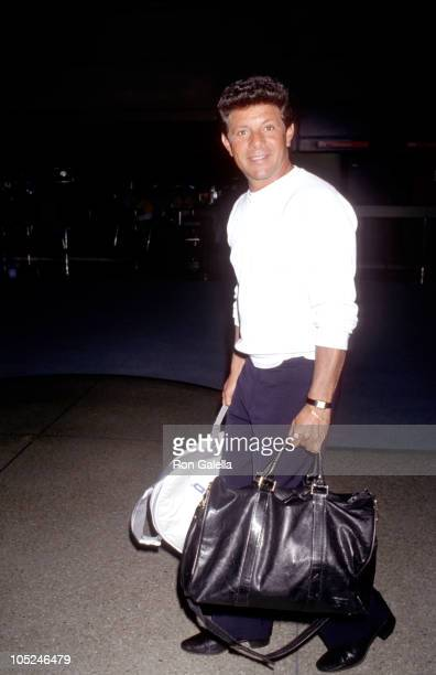 Frankie Avalon during Sighting at Los Angeles International Airport at Los Angeles International Airport in Los Angeles California United States