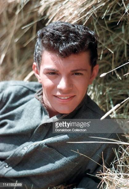 Frankie Avalon portrait session in 1959