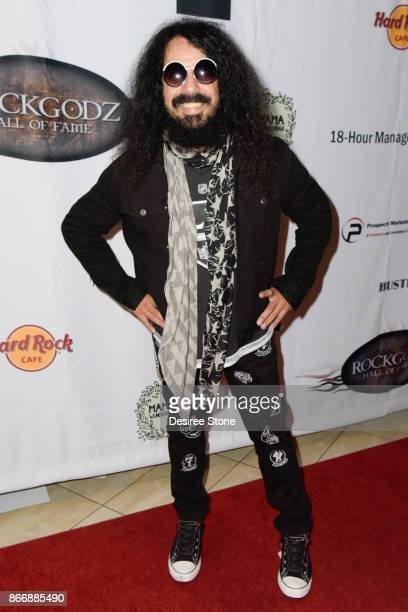 Frankie Banali attends the 5th Annual Rock Godz Hall of Fame Awards at Hard Rock Cafe Hollywood on October 26 2017 in Hollywood California