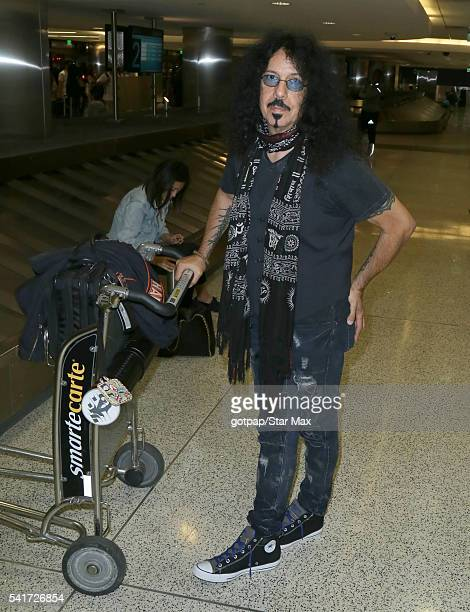 Frankie Banali is seen on June 19 2016 in Los Angeles California