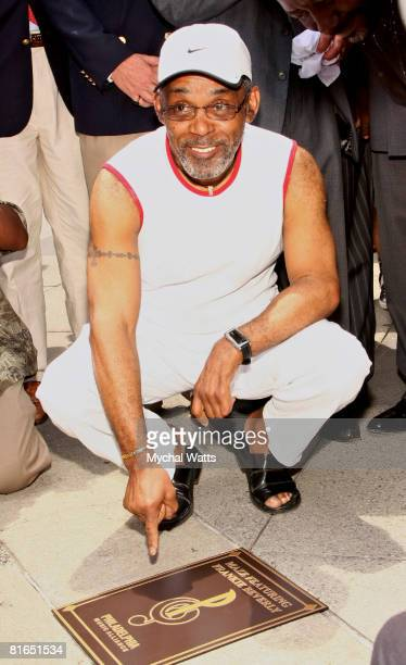 Frankie Beverly attends Maze featuring Frankie Beverly's plaque ceremony on the Philadelphia Walk of Fame on June 20 2008 in Philadelphia Pennsylvania