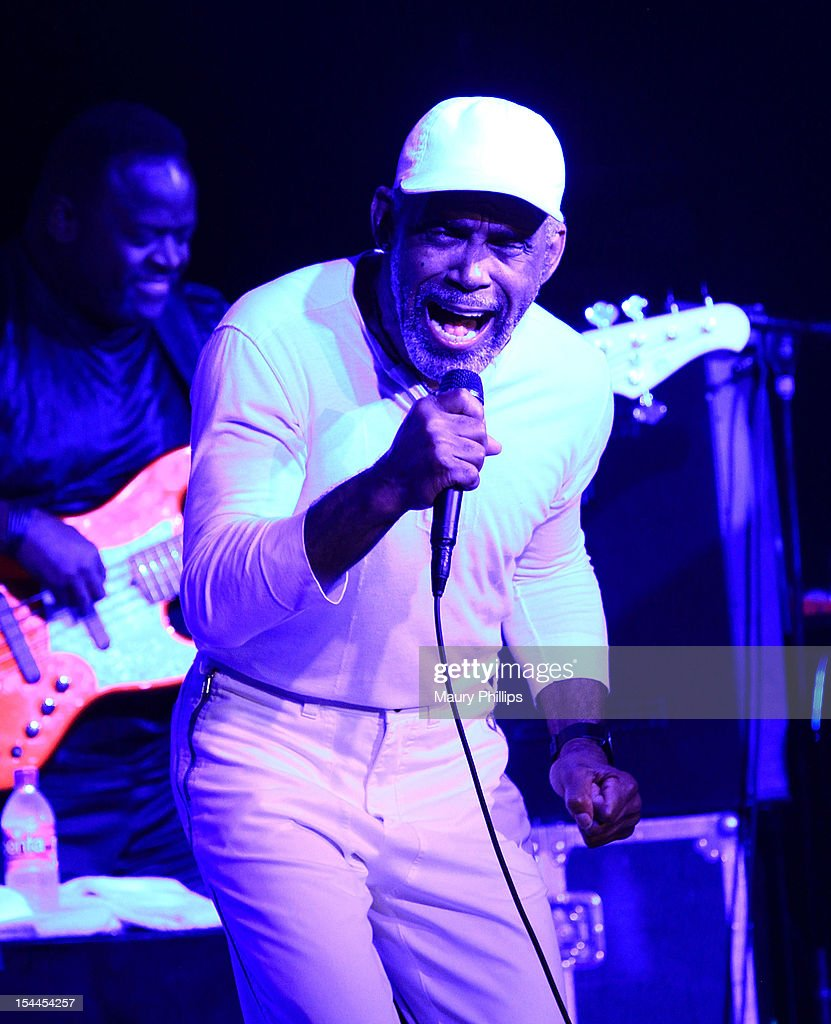 Frankie Beverly performs at the Faithful Central Bible Church Event on October 19, 2012 in Century City, California.