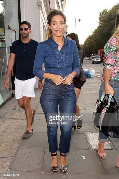 Frankie Bridge attending the GAP Jeans for Genes event on September 13 2016 in London England