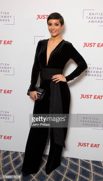 Frankie Bridge attends the British Takeaway Awards in association with Just Eat at The Savoy Hotel on November 05 2018 in London England