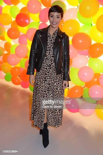 Frankie Bridge attends the Cath Kidston party celebrating the launch of their new collection in collaboration with TV and radio presenter Fearne...