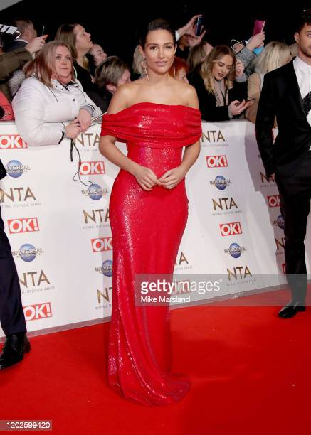 Frankie Bridge attends the National Television Awards 2020 at The O2 Arena on January 28, 2020 in London, England.