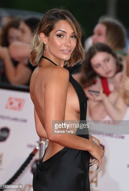 Frankie Bridge attends the National Television Awards 2021 at The O2 Arena on September 09, 2021 in London, England.