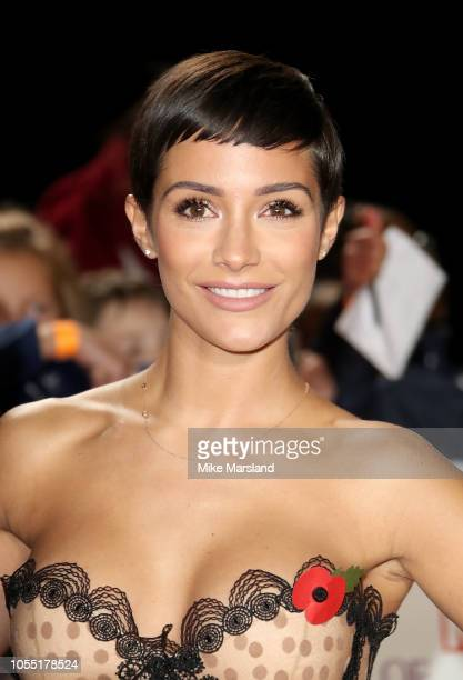 Frankie Bridge attends the Pride of Britain Awards 2018 at The Grosvenor House Hotel on October 29 2018 in London England