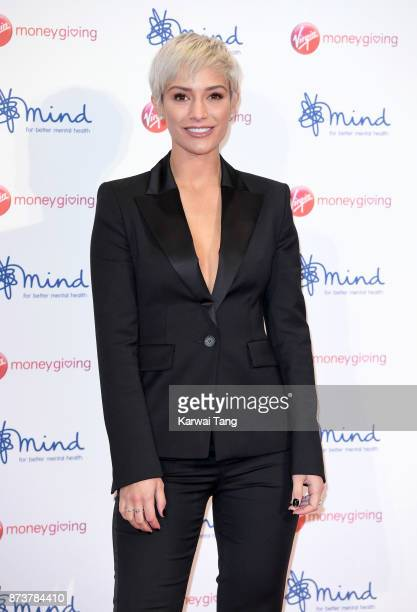 Frankie Bridge attends the Virgin Money Giving Mind Media Awards at Odeon Leicester Square on November 13 2017 in London England