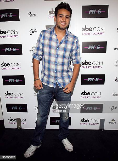 Frankie Delgado attends Mi6 Nightclub Grand Opening Party on September 15 2009 in West Hollywood California