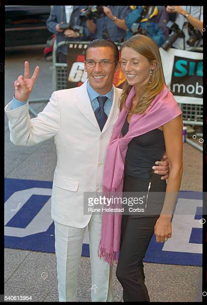 Frankie Dettori and his Wife at the Premiere of Gone in 60 Seconds