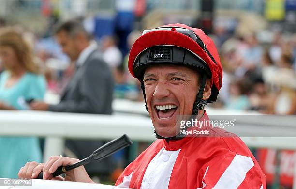 Frankie Dettori at Doncaster Racecourse on September 9, 2016 in Doncaster, England.