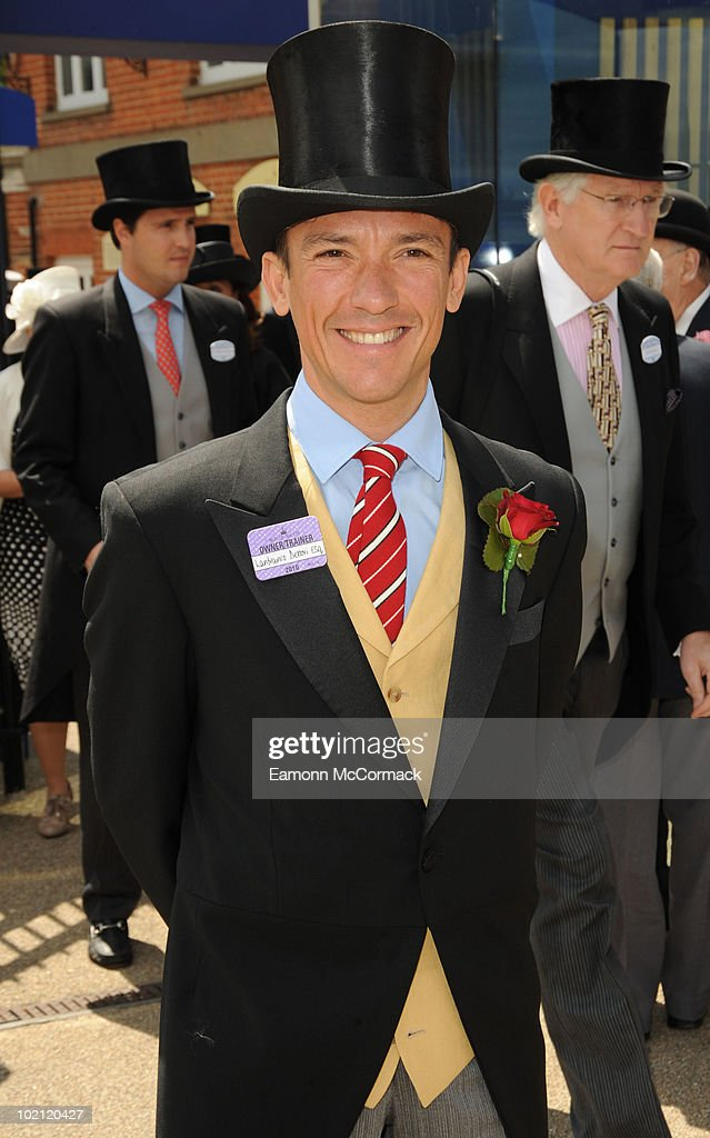 Frankie Dettori attends Royal Ascot at Ascot Racecourse on June 15, 2010 in Ascot, England.