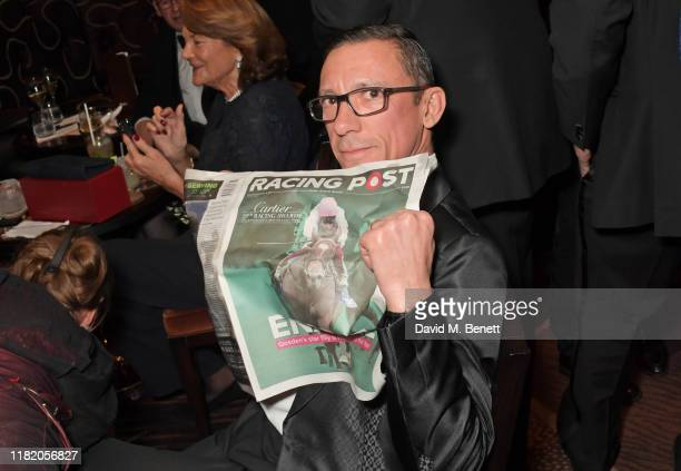 Frankie Dettori attends The 29th Cartier Racing Awards at The Dorchester on November 12, 2019 in London, England.