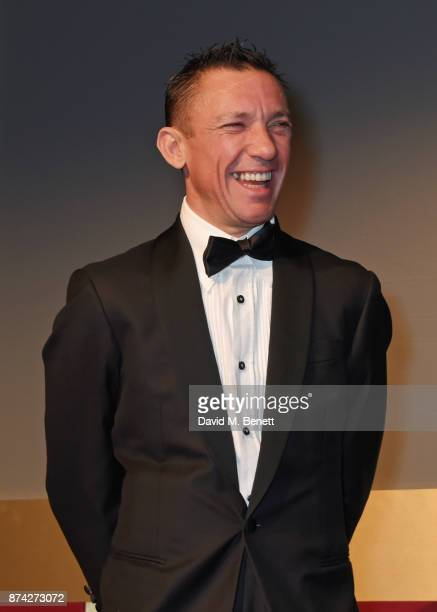 Frankie Dettori attends The Cartier Racing Awards 2017 at The Dorchester on November 14 2017 in London England