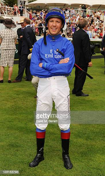 Frankie Dettori attends the Ladies Day at Glorious Goodwood at the Goodwood Racecourse on July 29 2010 in Chichester England