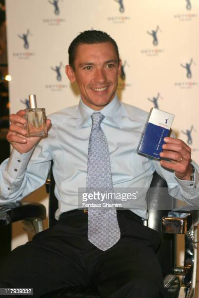Frankie Dettori during Frankie Dettori Launches Men's Frangrance Range 'Dettori' at Frankies Bar Grill in London Great Britain