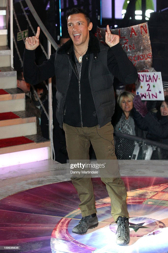 Frankie Dettori is the 5th celebrity evicted from the Big Brother house at Elstree Studios on January 23, 2013 in Borehamwood, England.