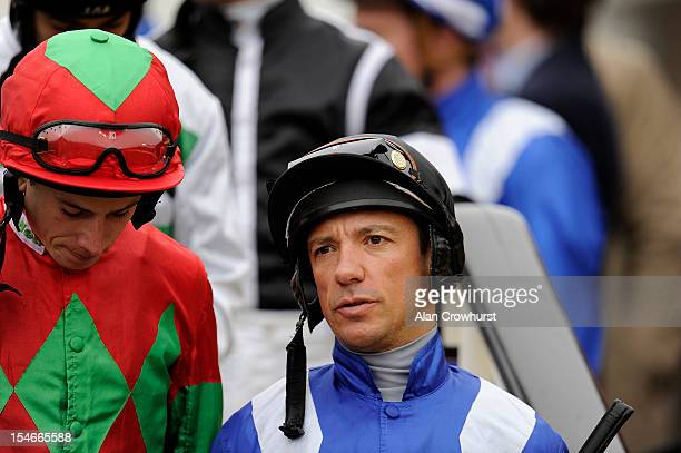Frankie Dettori rides for the first time since losing his jockeys retainer for Godolphin and will go freelance for the 2013 season at Newmarket...