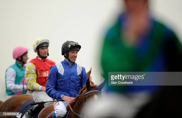Frankie Dettori rides for the first time since losing his jockey's retainer for Godolphin and will go freelance for the 2013 season at Newmarket...
