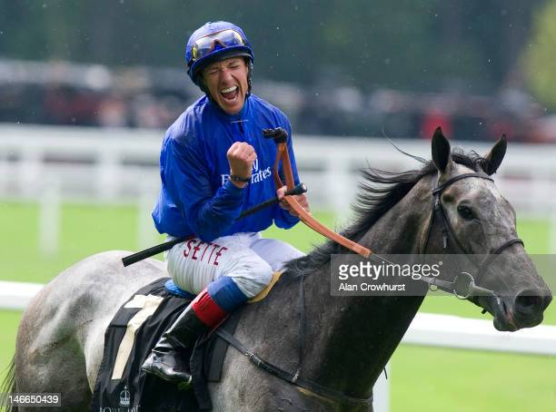Frankie Dettori riding Colour Vision win The Gold Cup during Ladies Day at Royal Ascot at Ascot racecourse on June 21, 2012 in Ascot, England.