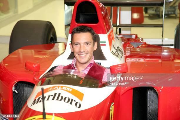 Frankie Dittori during Jo Macari's Ferrari and Maserati Servicing Centre Launch May 4 2007 in London Great Britain