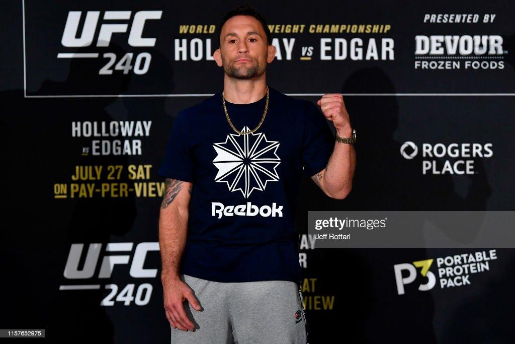 UFC 240: Ultimate Media Day : News Photo