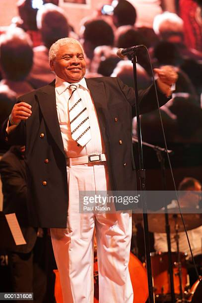 Frankie Figueroa at the Chicago Jazz Festival at the Pritzker Pavilion in Millenium Park in Chicago Illinois September 4 2016
