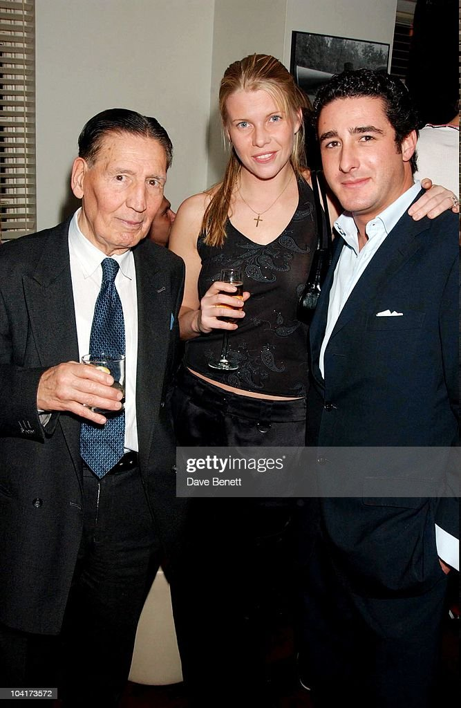 Frankie Fraser With Sophie Burrell And Luca Del Bono, Matthew Melon S New Shop Harrys, Selling Mens Shoes Launch Party, At The Fifth Floor In Harvey Nichols With A Little Help From Quintesential