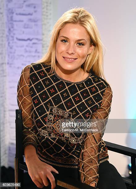 Frankie Gaff of Made In Chelsea joins BUILD for a live interview at their London studio at AOL London on November 16 2016 in London England
