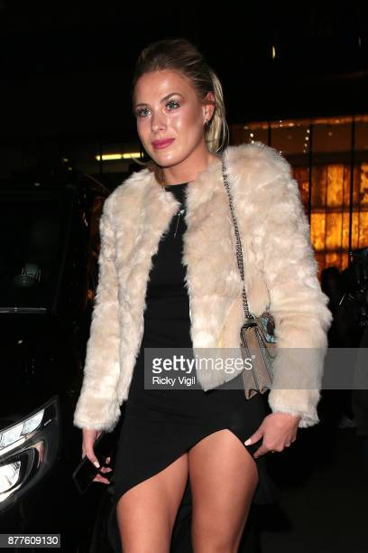 Frankie Gaff seen attending Lipsy London VIP winter dinner held Rosewood London on November 22 2017 in London England