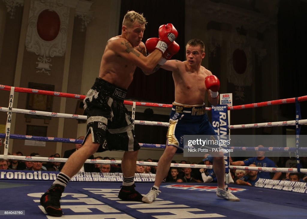 Frankie Gavin And Jason Welborn During The British Welterweight News Photo Getty Images
