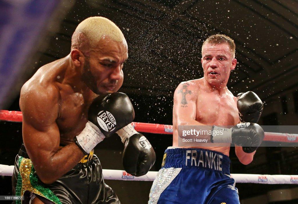 Junior Witter v Frankie Gavin - British Welterweight Fight
