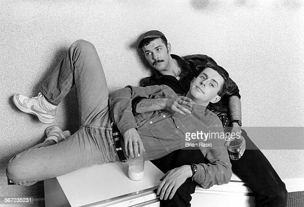 Frankie Goes To Hollywood Holly Johnson And Paul Rutherford 1980S Frankie Goes To Hollywood Holly Johnson And Paul Rutherford 1980S