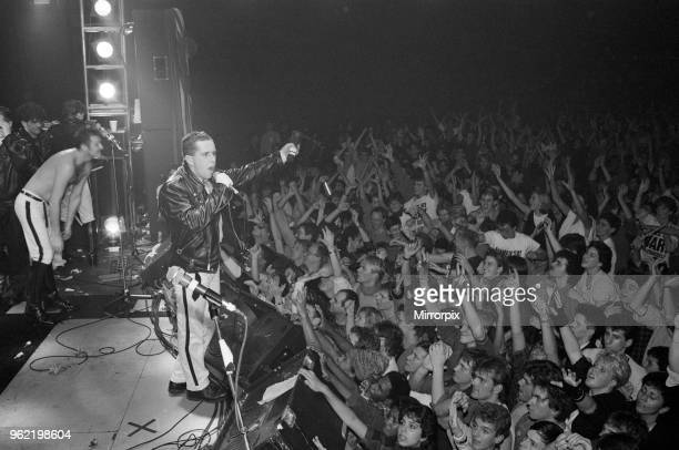 Frankie Goes To Hollywood performing in Washington during their US tour 8th November 1984