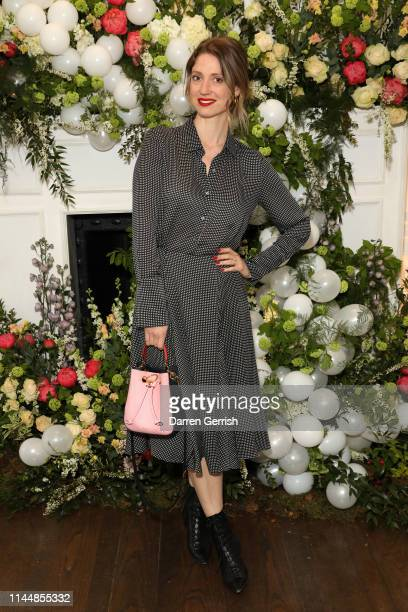 Frankie Graddon attends the Outnet's 10th Anniversary Dinner on April 24 2019 in London England