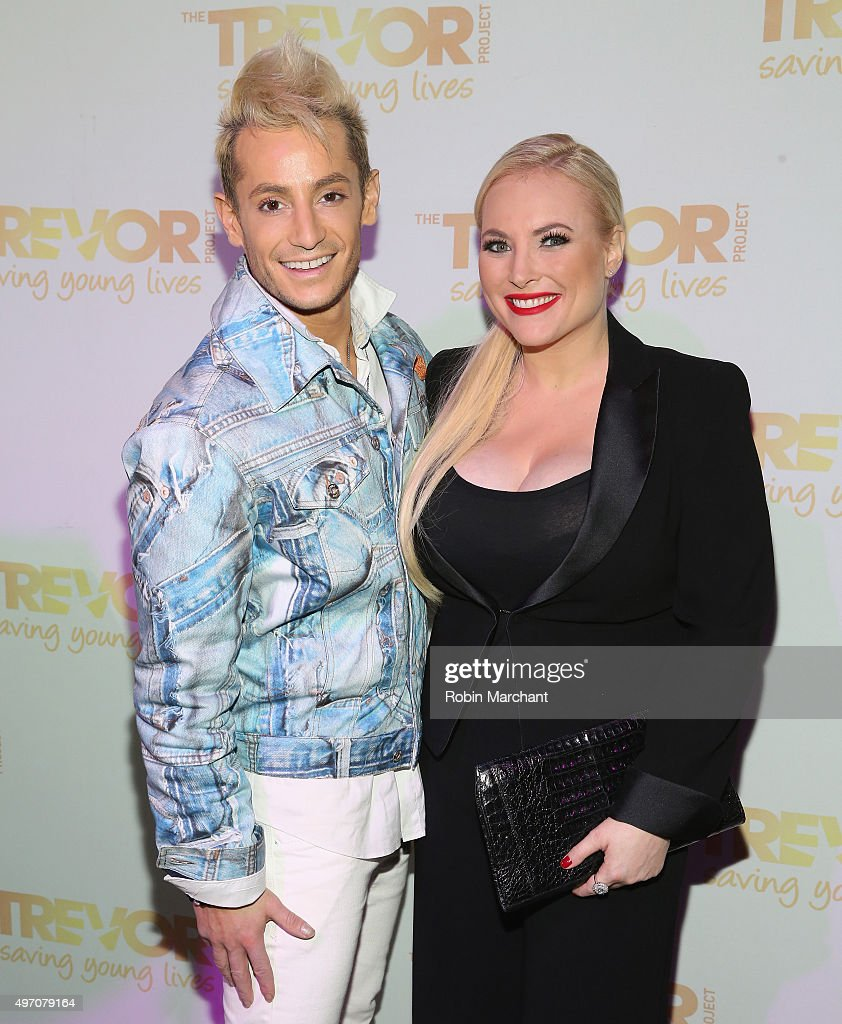 Who Is Sexy Meghan Mccain S Boyfriend: Frankie Grande And Meghan McCain Attend The 2015 Trevor