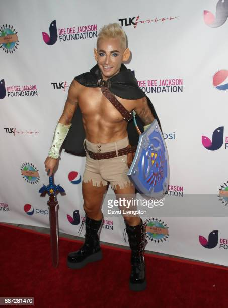 Frankie Grande at Prince Jackson's Heal LA and TLK Fusion Present the 2nd Annual Costume for a Cause at Jackson Family Home on October 27 2017 in...