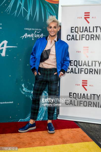 Frankie Grande attends Cirque du Soleil's Amaluna Pride Night at Big Top At The LA Waterfront on May 23 2019 in San Pedro California