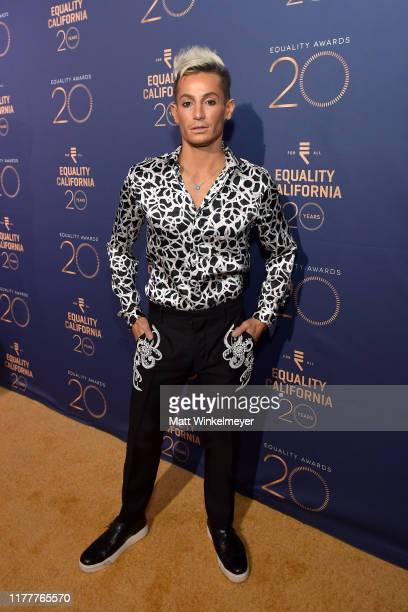 Frankie Grande attends Equality California's Special 20th Anniversary Los Angeles Equality Awards at the JW Marriott Los Angeles at L.A. LIVE on...