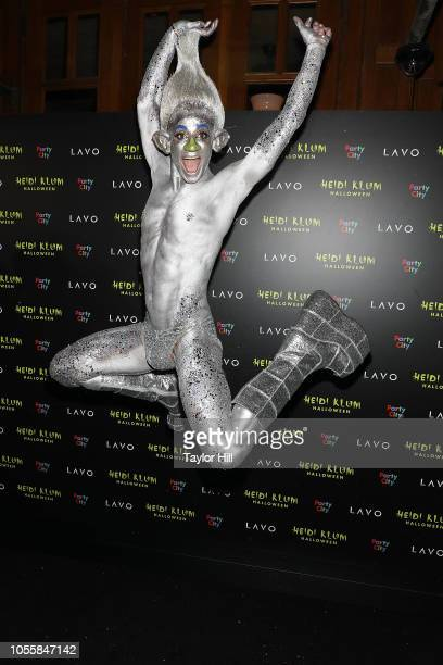 Frankie Grande attends Heidi Klum's 19th Annual Halloween Party at Lavo on October 31 2018 in New York City