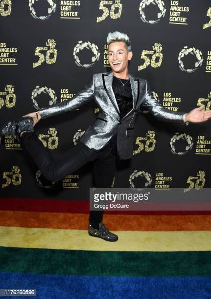 Frankie Grande attends Los Angeles LGBT Center Celebrates 50th Anniversary With Hearts Of Gold Concert Multimedia Extravaganza at The Greek Theatre...