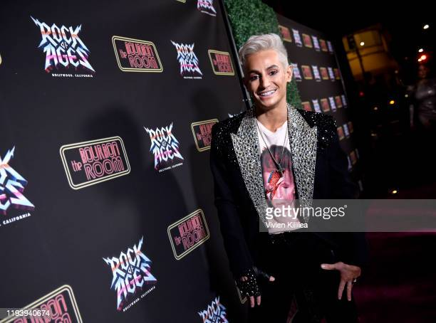 Frankie Grande attends Opening Night Of Rock Of Ages Hollywood at The Bourbon Room on January 15, 2020 in Hollywood, California.
