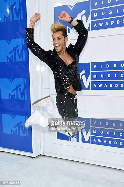 Frankie Grande attends the 2016 MTV Video Music Awards at Madison Square Garden on August 28 2016 in New York City