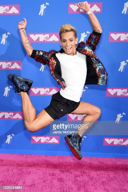 Frankie Grande attends the 2018 MTV Video Music Awards at Radio City Music Hall on August 20 2018 in New York City