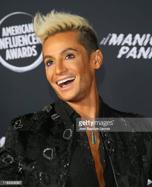 Frankie Grande attends the 2nd Annual American Influencer Awards at Dolby Theatre on November 18 2019 in Hollywood California