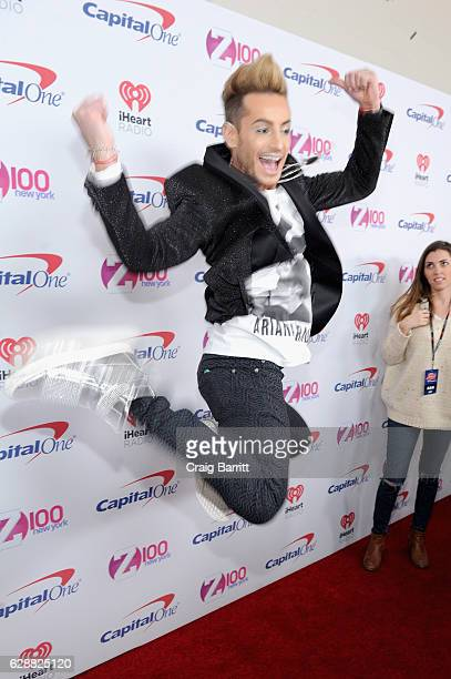 Frankie Grande attends Z100's Jingle Ball 2016 at Madison Square Garden on December 9 2016 in New York City